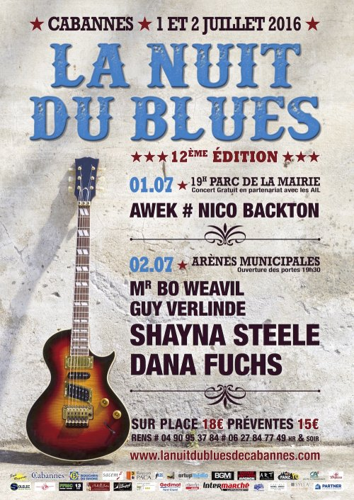 Nuit de Blues 2016